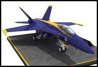 f18-hornet-jet-papercraft
