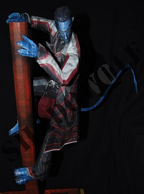 x-men nightcrawler papercraft