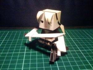 babydoll sucker punch papercraft