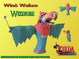 wind waker papercraft