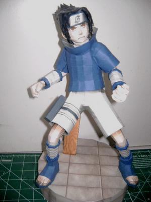 sasuke papercraft