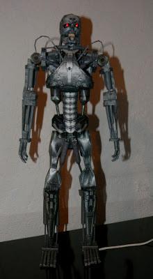 Terminator - T-800 Endoskeleton Papercraft
