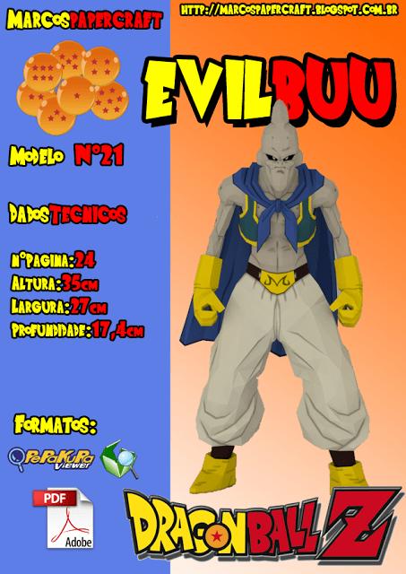 Majin Buu - evil