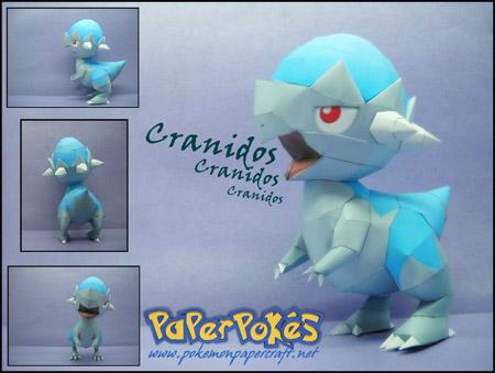 pokemon+cranidos+papercraft