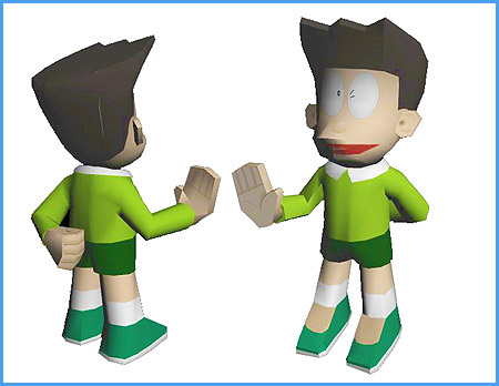 doraemon+suneo+honekawa+papercraft