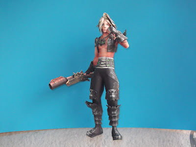 vaan papercraft gunmetal outfit