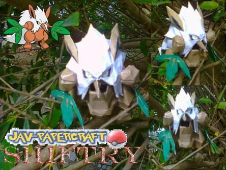 Pokemon Shiftry Papercraft