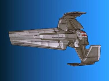 Sith-Infiltrator-Papercraft