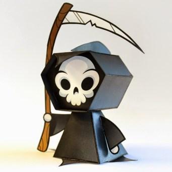 Grim-Reaper-Paper-Toy