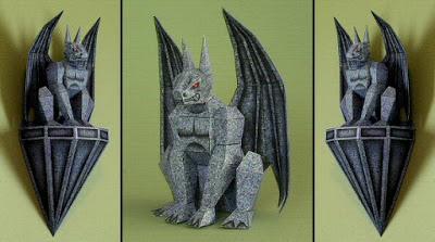 Gargoyle Papercraft