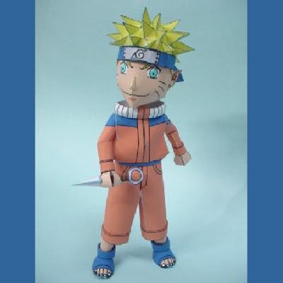 Naruto-Papercraft