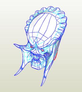 Máscara Depredador
