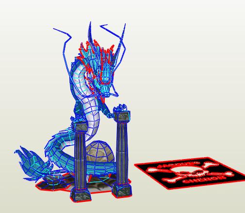 Diorama Dragon Shiryu