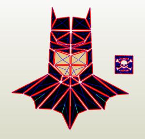 Batman mosaico