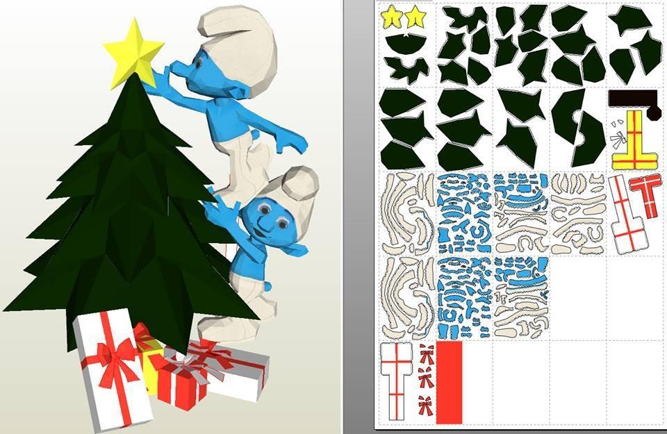 Navidad Pitufos