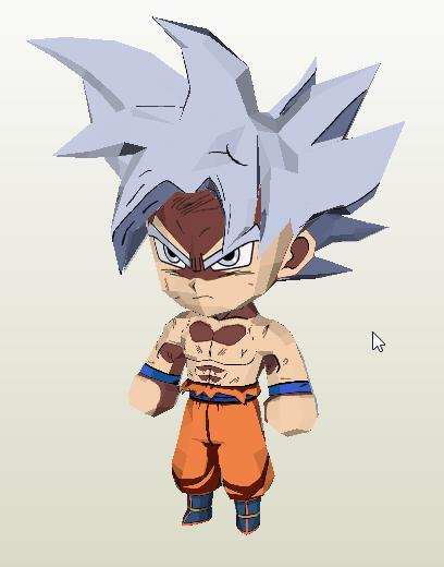 Goku chibi Ultra Instinto