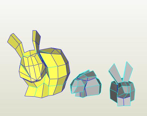 Conejos LowPoly