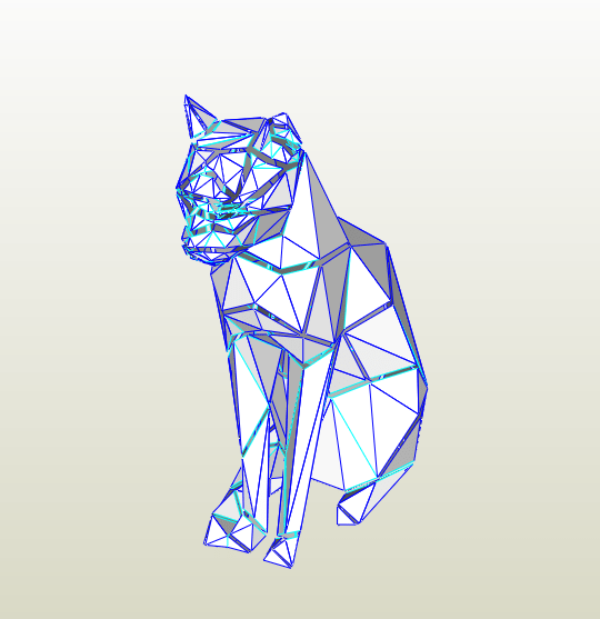 Gato LowPoly