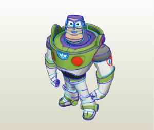 Buzz Lightyear papercraft