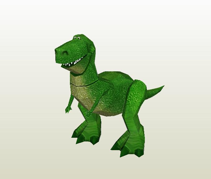Rex papercraft