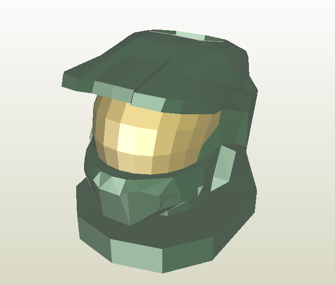 Halo papercraft