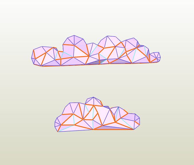 Nubes LowPoly
