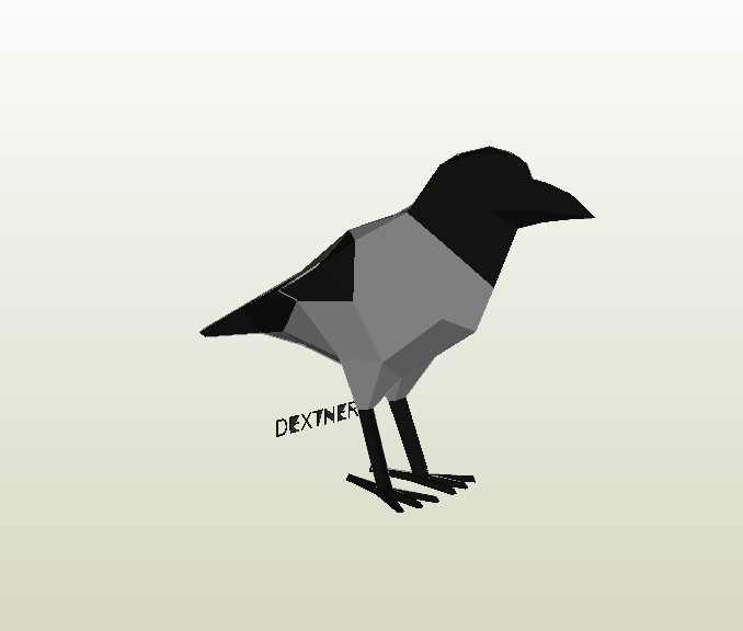 Cuervo LowPoly