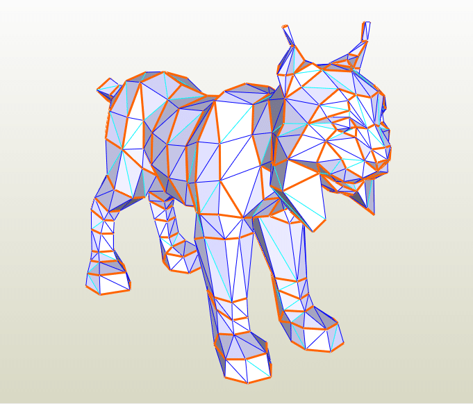 Lince LowPoly