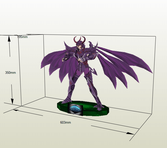 Radamanthys papercraft
