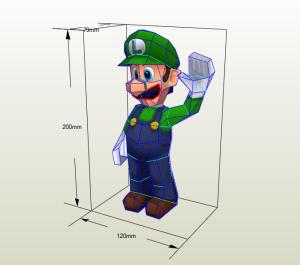 Luigi Bros LowPoly