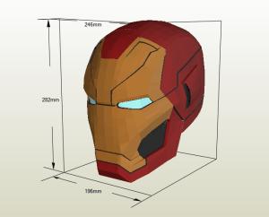 IronMan papercraft