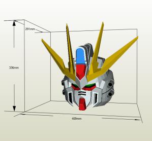 Gundam papercraft