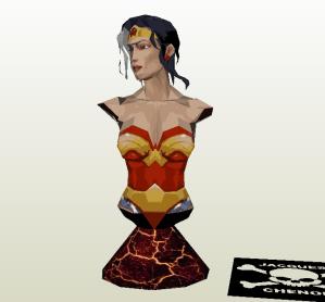 Mujer Maravilla papercraft