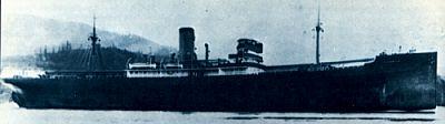 Foto del Titanian. Hay coincidencias que vinculan los destinos del Titanian y el famoso Titanic. Los dos encontraron icebergs en las mismas aguas, pero el Titanian sobrevivió.