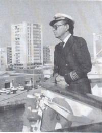 """El capitán del """"Manuel de Soto"""" José Bruguera Batllori."""