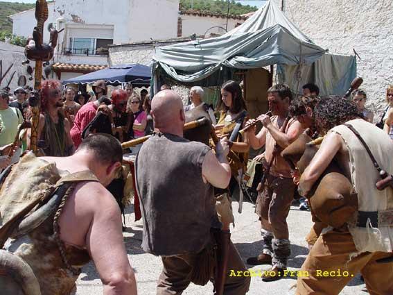 Fiesta anual de la brujería en Trasmoz - otro de los pueblos malditos españoles
