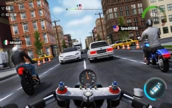 Moto Traffic Race 2 APK MOD imagen 4