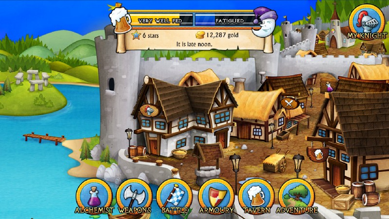 Swords and Sandals Medieval APK MOD imagen 2