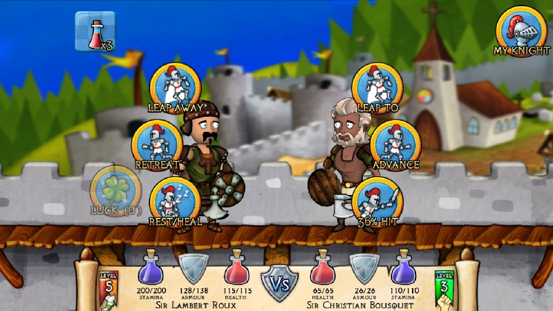 Swords and Sandals Medieval APK MOD imagen 4
