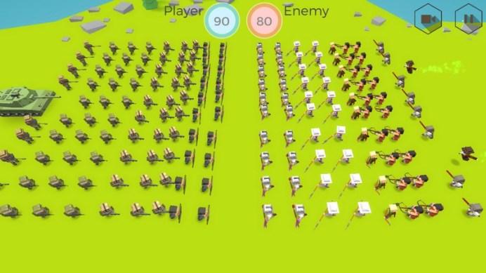 Tactical Battle Simulator APK MOD imagen 5