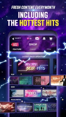 Tap Tap Reborn 2 Popular Songs Rhythm Game APK MOD imagen 2