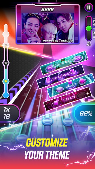 Tap Tap Reborn 2 Popular Songs Rhythm Game APK MOD imagen 5