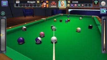 3D Pool Ball APK MOD imagen 2