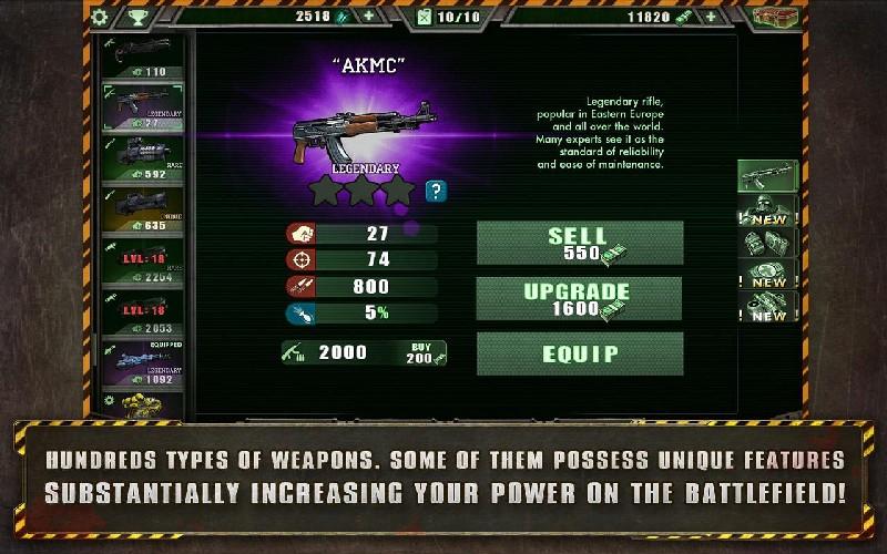 Alien Shooter Free APK MOD imagen 2
