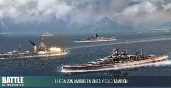 Battle of Warships APK MOD imagen 2