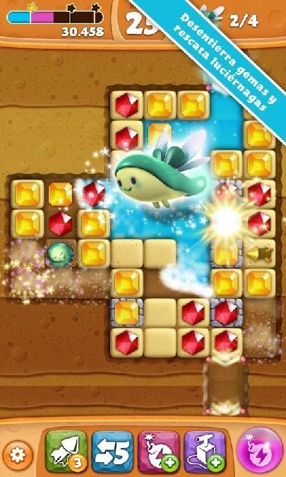 Diamond Digger Saga APK MOD imagen 1