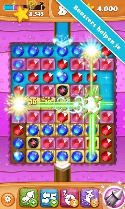 Diamond Digger Saga APK MOD imagen 2