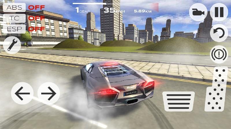 Extreme Car Driving Simulator APK MOD imagen 1