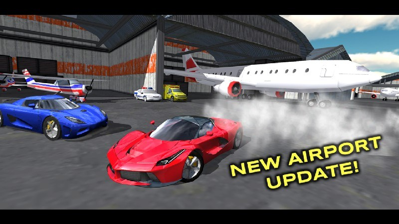 Extreme Car Driving Simulator APK MOD imagen 2