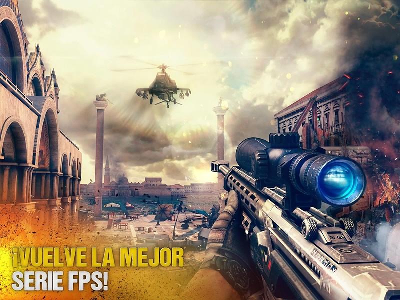 Modern Combat 5 eSports FPS APK MOD imagen 1